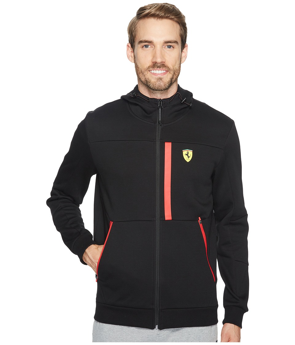 PUMA - SF Hooded Sweat Jacket (PUMA Black) Men's Coat