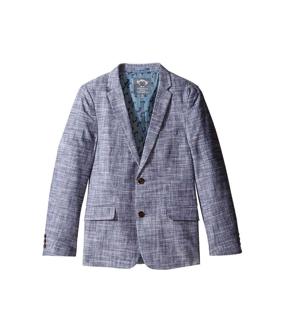 Appaman Kids - Mod Blazer (Toddler/Little Kids/Big Kids) (Navy Slub) Boy's Jacket