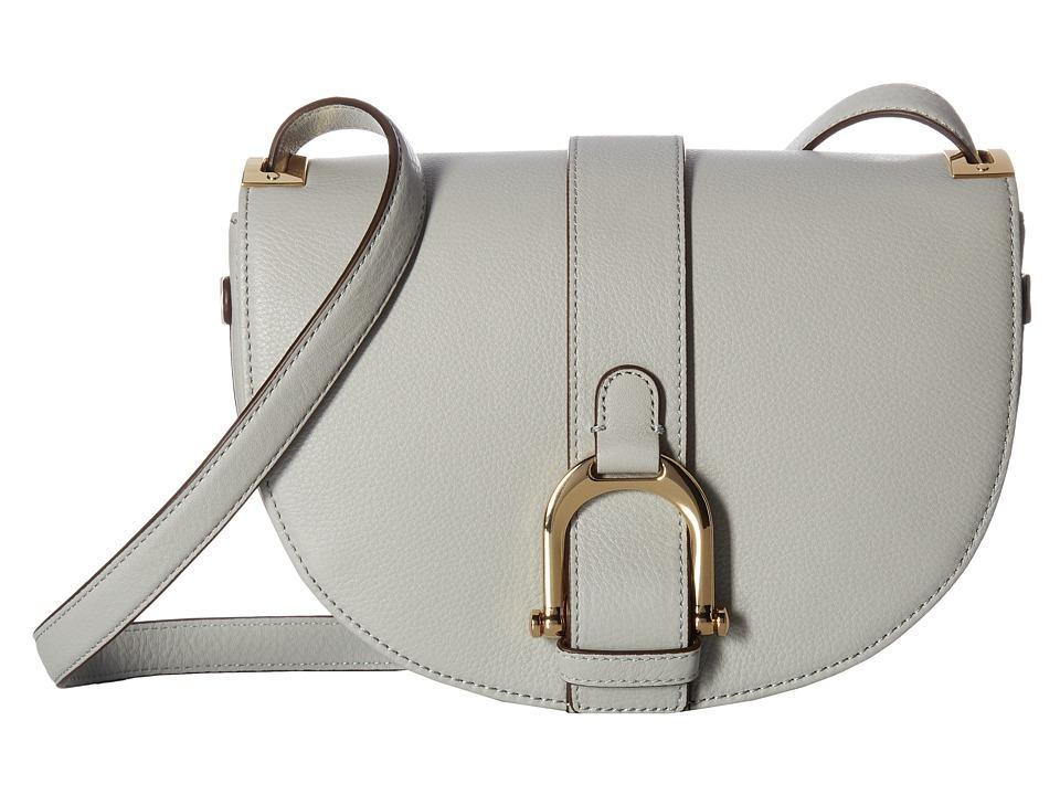 Sam Edelman - Jeanne Half Moon Saddle (Denim) Handbags