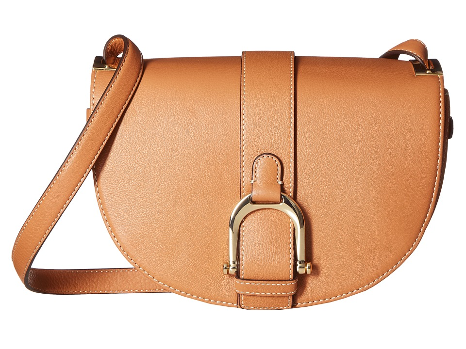Sam Edelman - Jeanne Half Moon Saddle (Saddle) Handbags