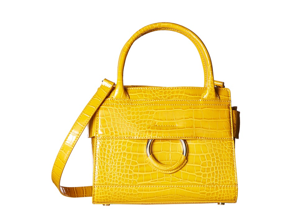 Sam Edelman - Chiara Mini Tote with Croco PU (Sunset Yellow) Tote Handbags