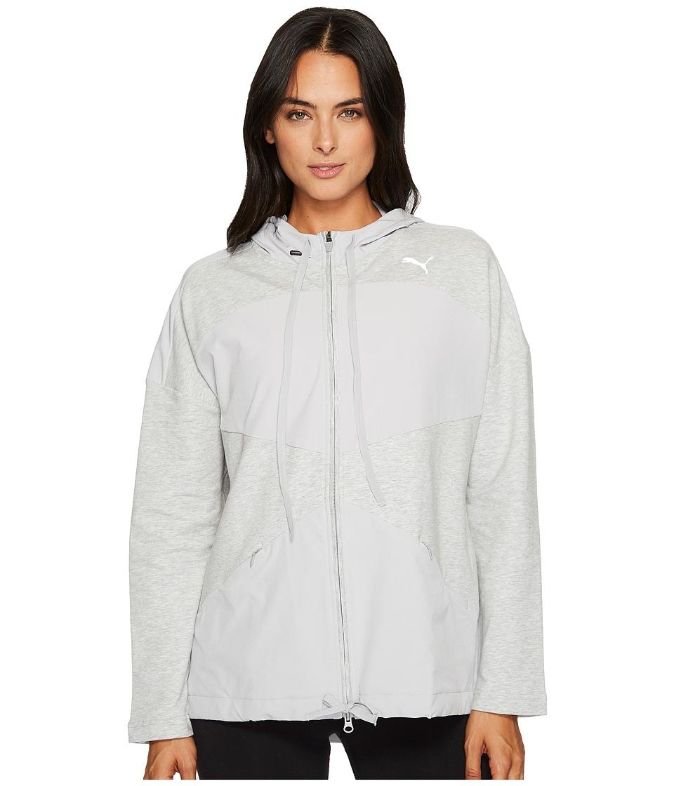 PUMA - Transition Full Zip Jacket (Olive Night) Women's Coat