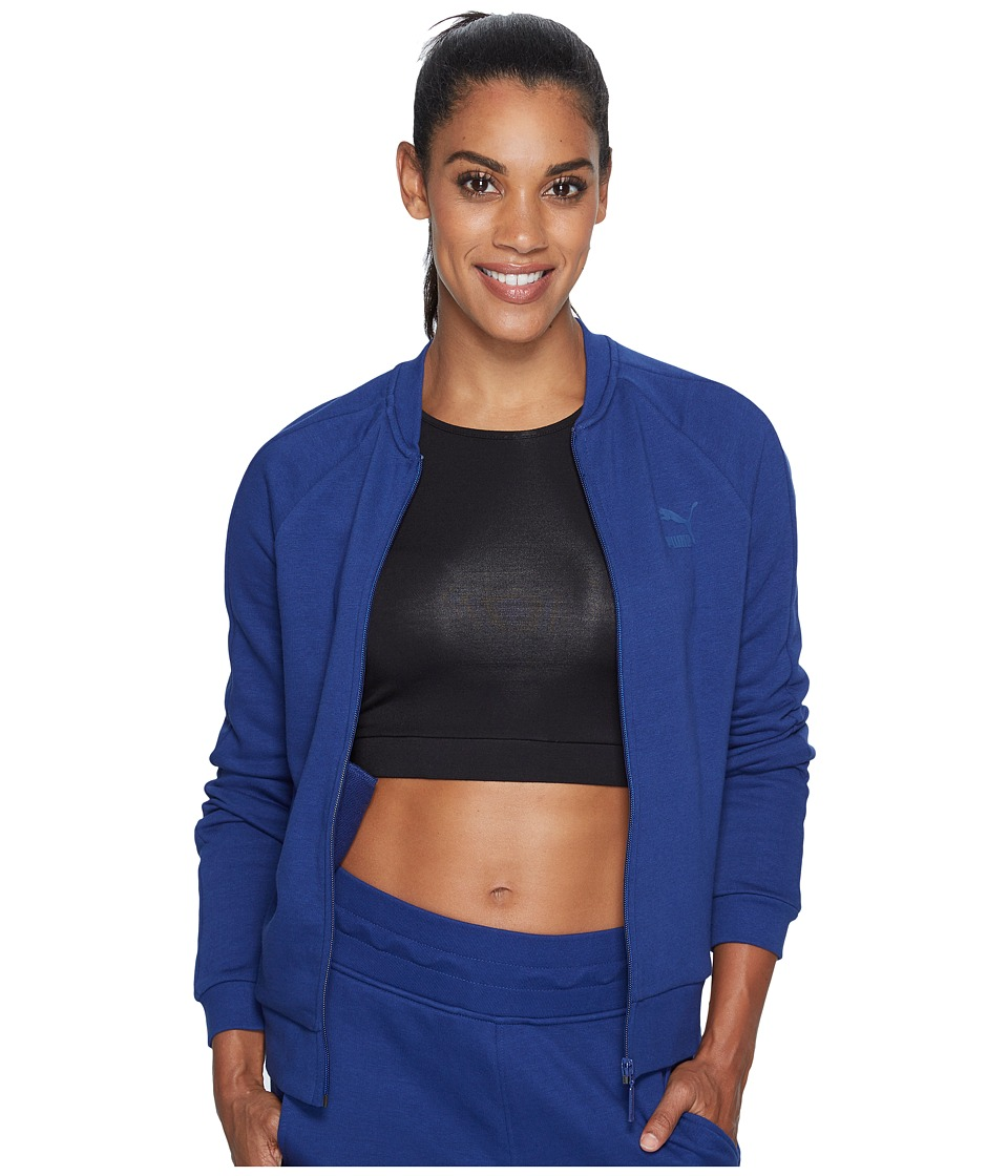 PUMA - Archive Logo T7 Track Jacket (Blue Depths) Women's Coat