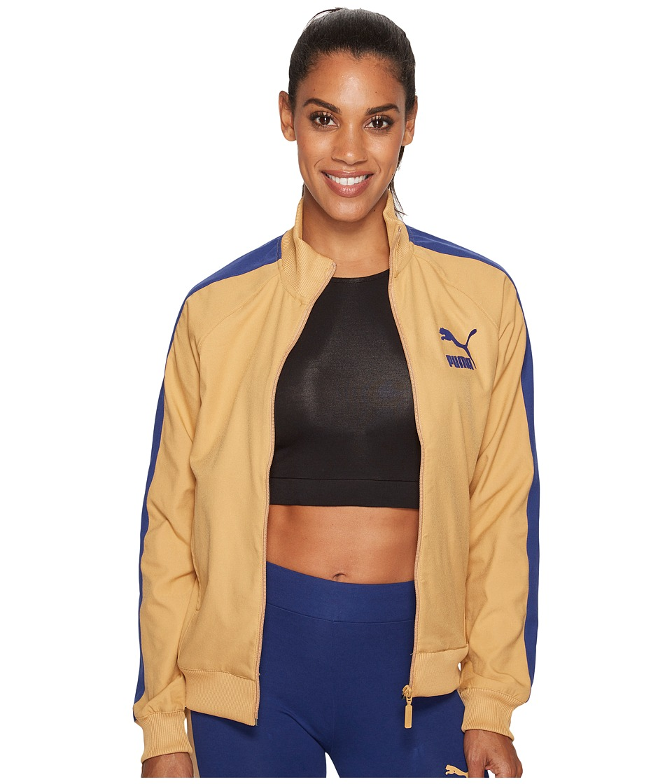 PUMA - True Archive T7 Track Jacket (Apple Cinnamon) Women's Coat