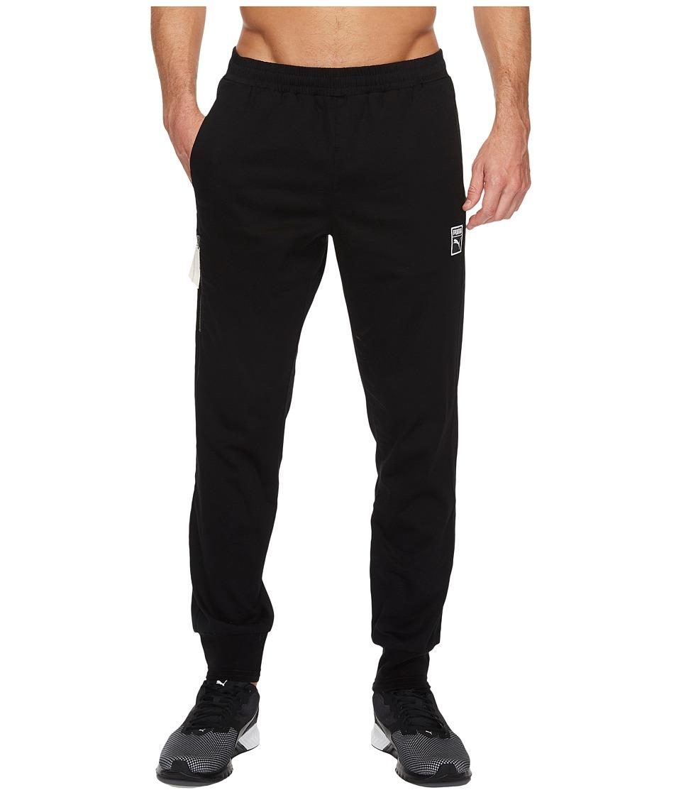 PUMA - Classic + T7 Woven Pants (PUMA Black) Men's Casual Pants