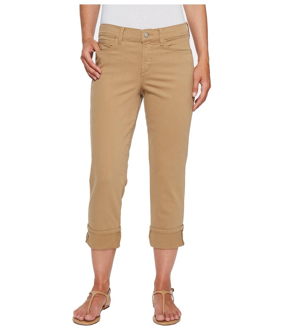 NYDJ - Dayla Wide Cuff Capris in Sepia (Sepia) Women's Jeans