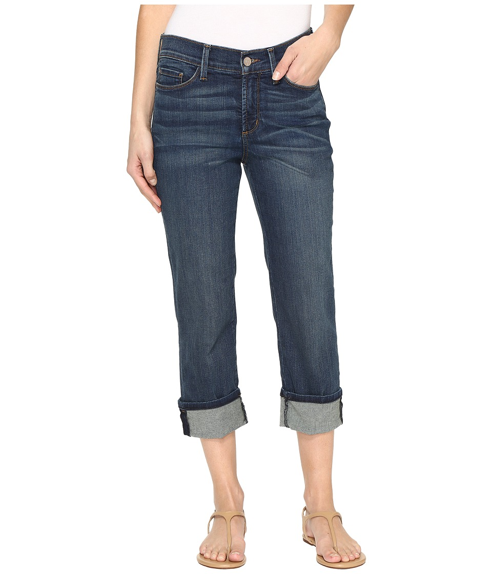 NYDJ Dayla Wide Cuff Capris in Oak Hill (Oak Hill) Women