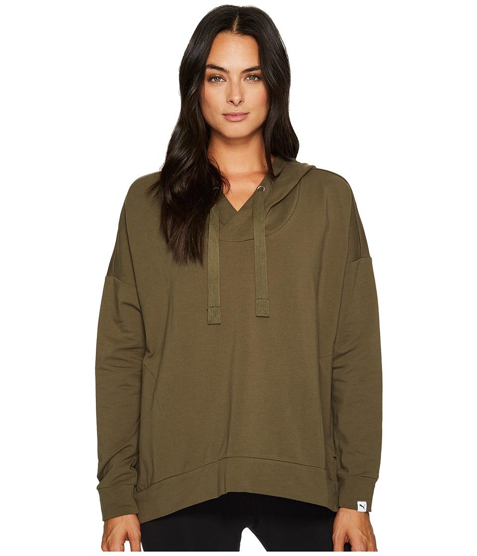 PUMA - Fusion Hoodie (Marshmallow) Women's Sweatshirt