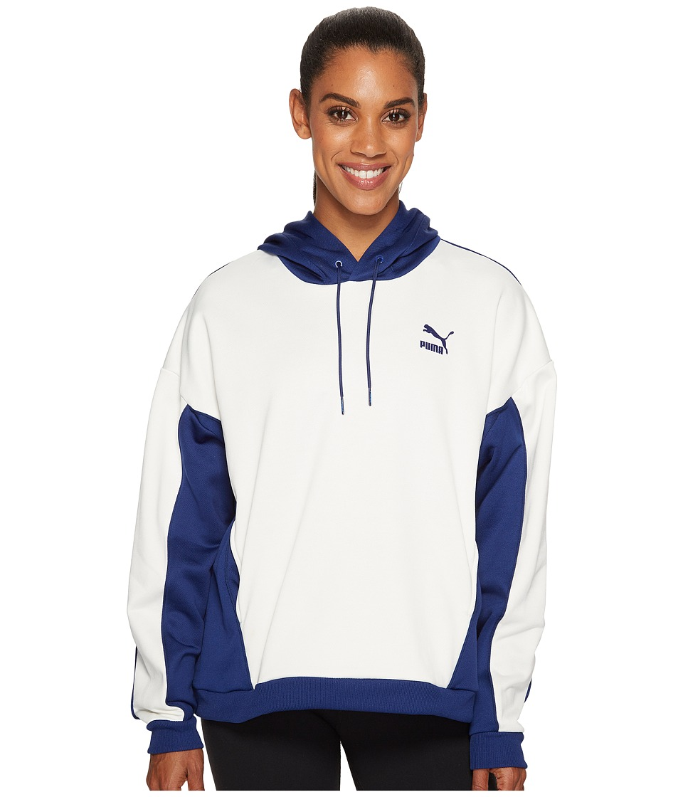 PUMA - Oversized Hoodie (Blue Depths) Women's Sweatshirt