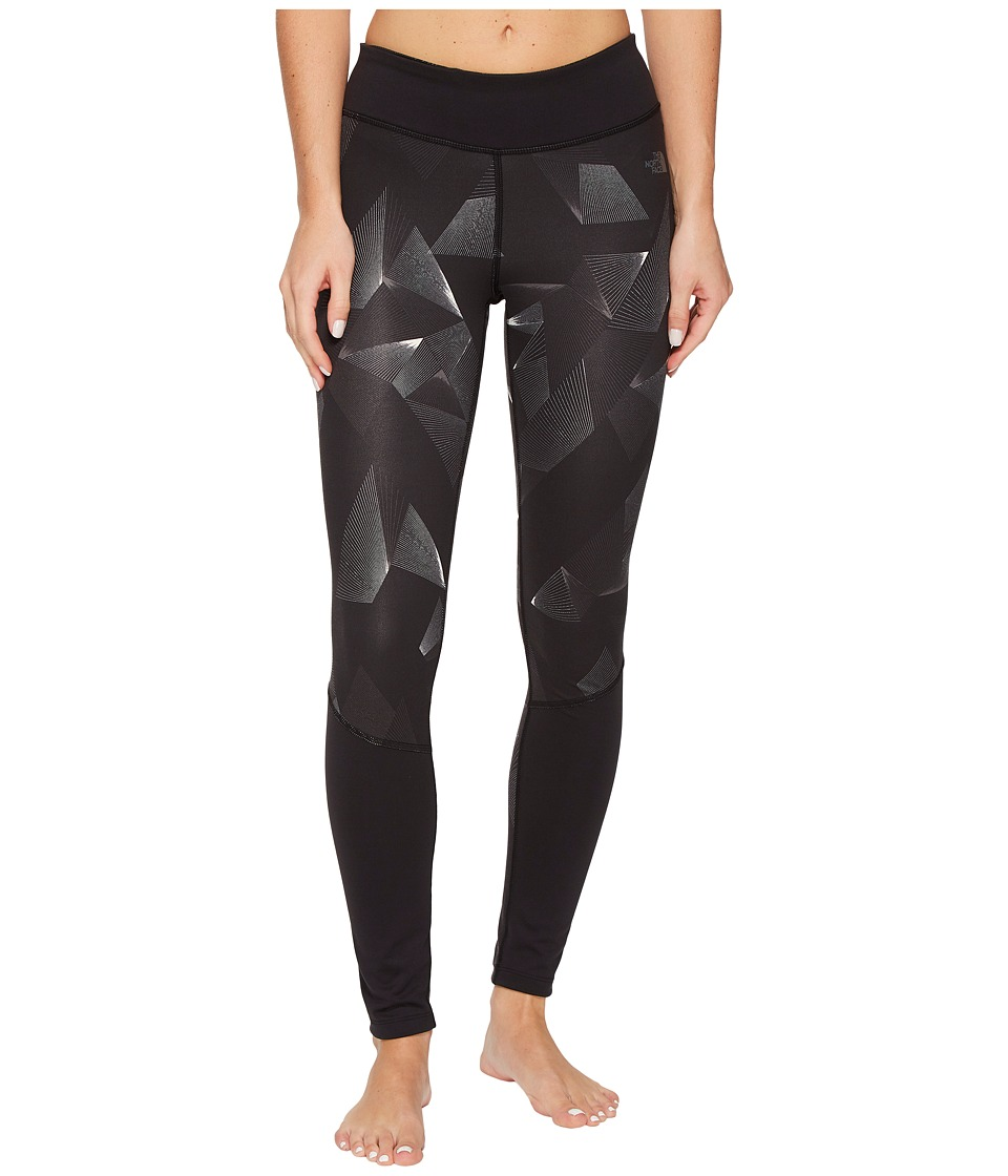The North Face Pulse Tights (TNF Black Space Geo Print) Women