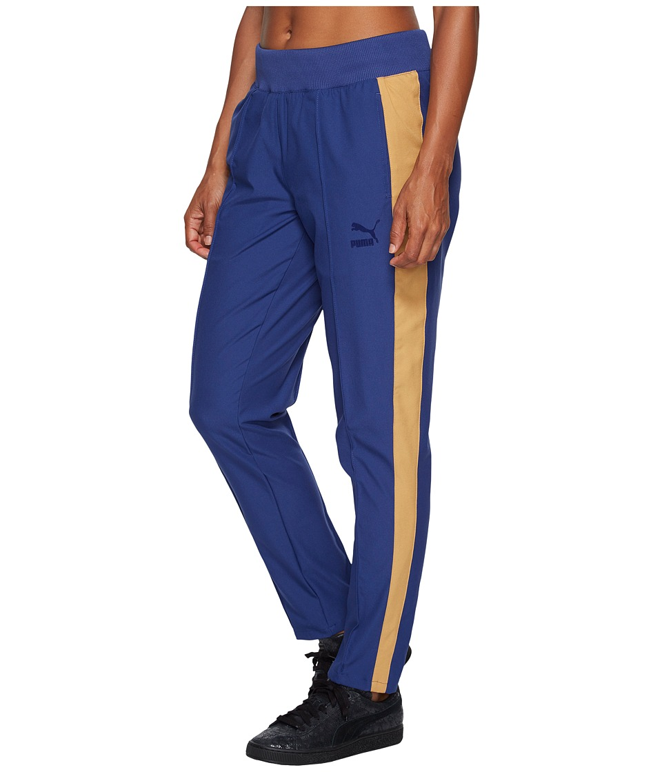 PUMA - True Archive T7 Pants (Blue Depths) Women's Casual Pants