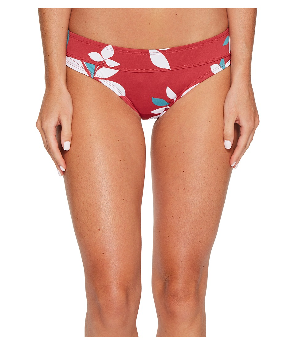 Carve Designs - Catalina Bottom (Red Oasis) Women's Swimwear