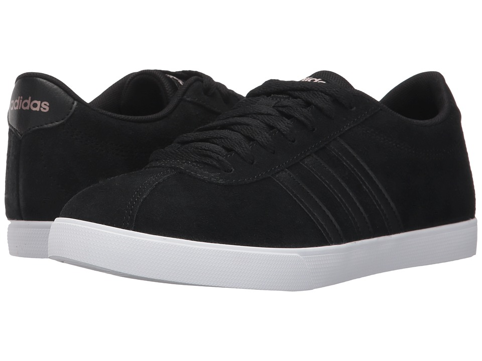 adidas - Courtset (Core Black/Core Black/Copper Metallic) Women's Lace up casual Shoes