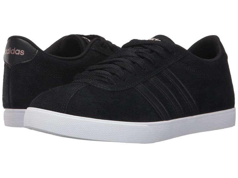 adidas - Courtset (Core Black/Core Black/Copper Metallic) Women's Lace up casual Shoes