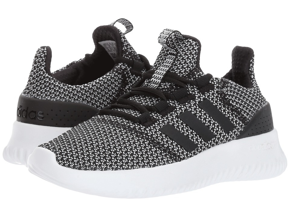 adidas Kids - Cloudfoam Ultimate (Little Kid/Big Kid) (Core Black/Core Black/Silver Metallic) Kids Shoes