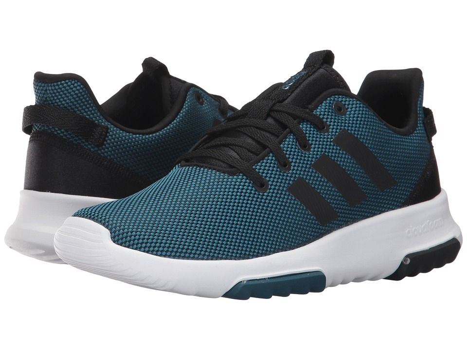 adidas Kids - Cloudfoam Racer TR (Little Kid/Big Kid) (Petrol Night/Core Black/Footwear White) Kids Shoes