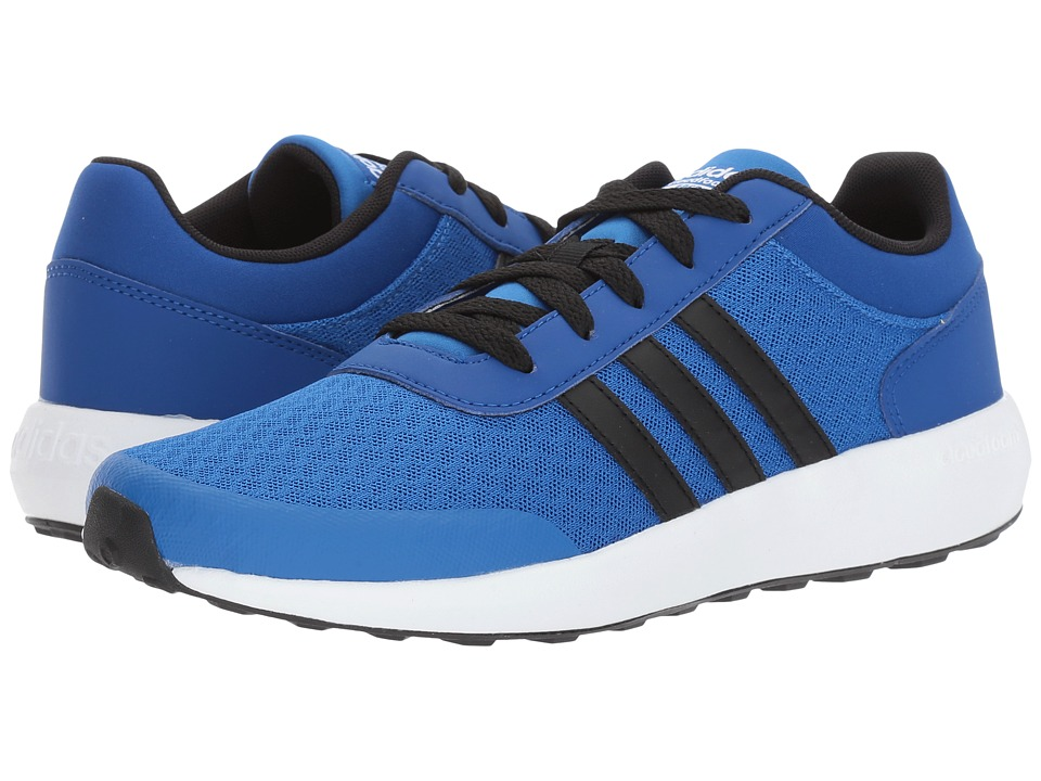 adidas Kids - Cloudfoam Race (Little Kid/Big Kid) (Blue/Core Black/Collegiate Royal) Kids Shoes