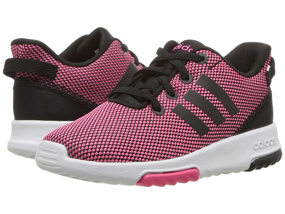 adidas Kids Racer TR (Infant/Toddler) (Super Pink/Core Black/Footwear White) Kids Shoes