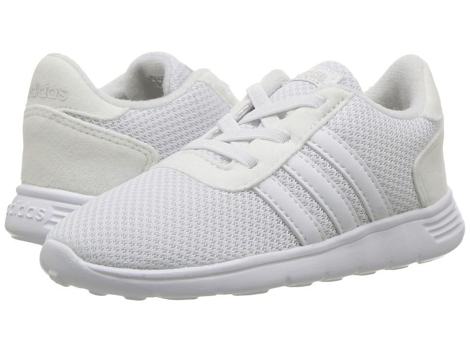 adidas Kids Lite Racer (Infant/Toddler) (Footwear White/Footwear White/Footwear White) Kids Shoes