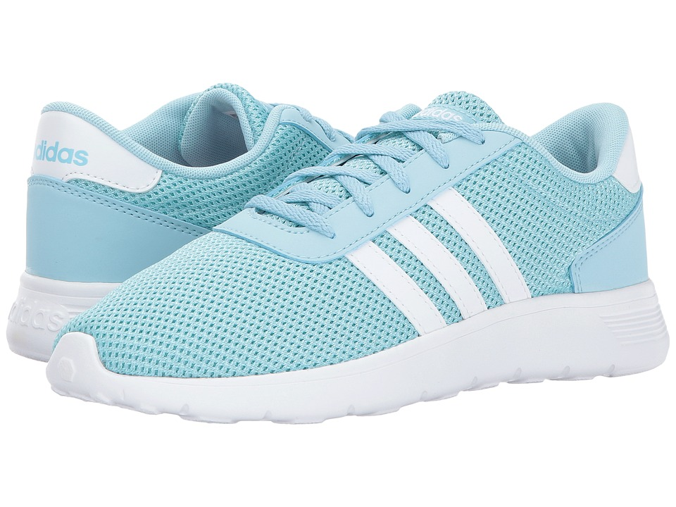 adidas Kids - Lite Racer (Little Kid/Big Kid) (Icy Blue/Footwear White/Energy Aqua) Kids Shoes