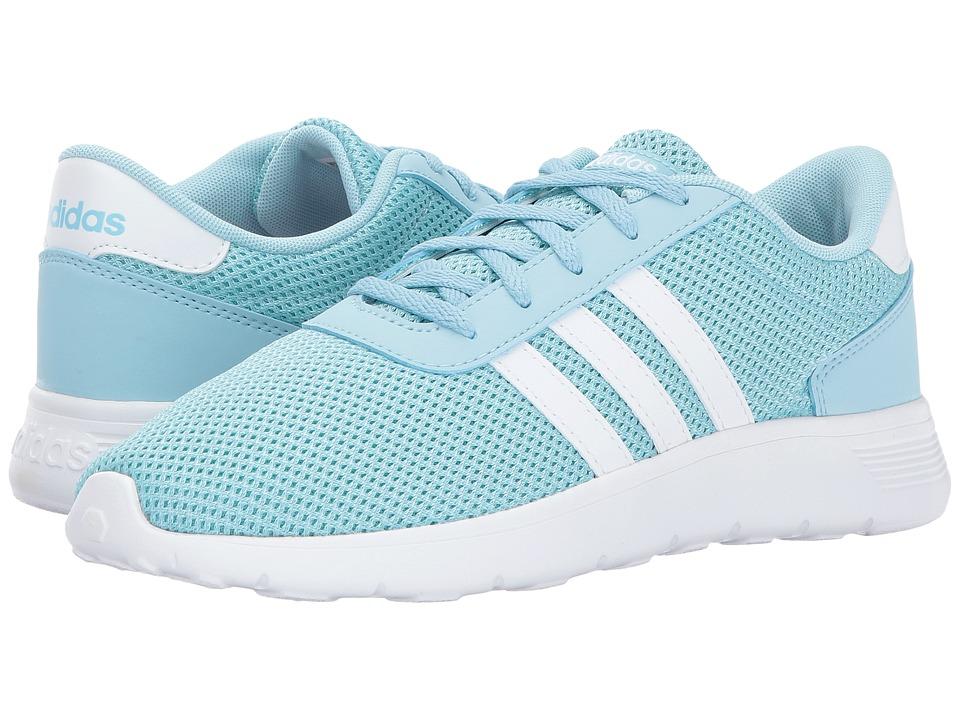 adidas Kids - Lite Racer (Little Kid/Big Kid) (Icy Blue/Footwear White/Energy Aqua) Kids Shoes