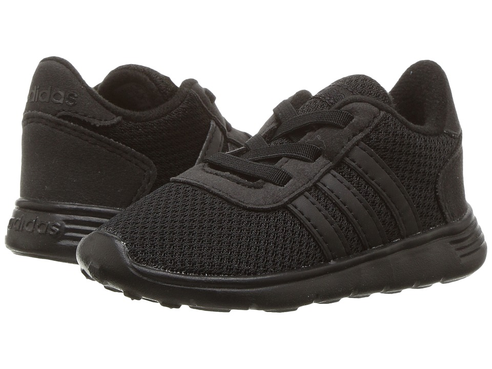 adidas Kids - Lite Racer (Infant/Toddler) (Core Black/Core Black/Core Black) Kids Shoes