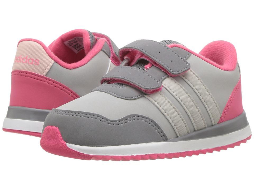 adidas Kids - V Jog CMF (Infant/Toddler) (Grey Two/Pearl Grey/Grey Three) Kids Shoes