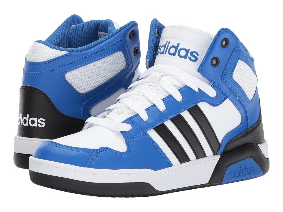 adidas Kids BB9TIS (Little Kid/Big Kid) (Footwear White/Core Black/Blue) Kids Shoes