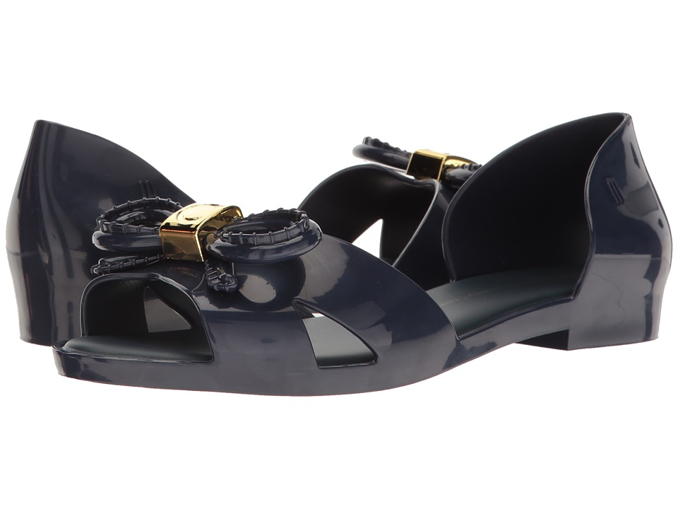 Melissa Shoes Seduction + Vitorino Campos (Navy) Women