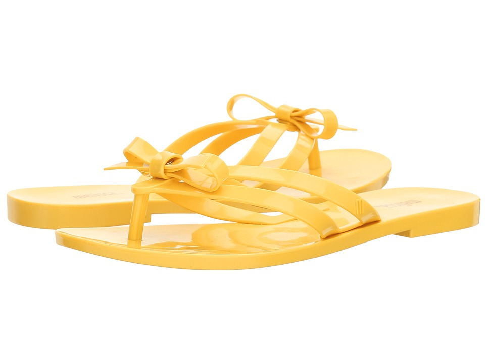 Melissa Shoes - Girlish (Yellow) Women's Shoes