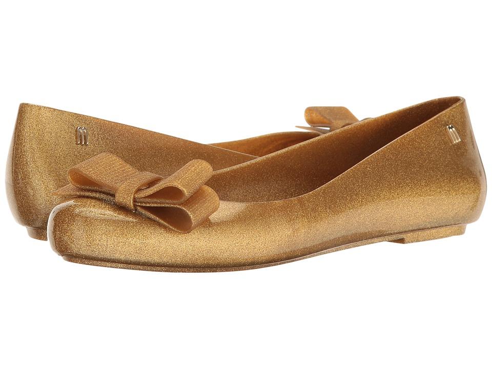Melissa Shoes - Space Love + Jason Wu III (Gold Glitter) Women's Shoes