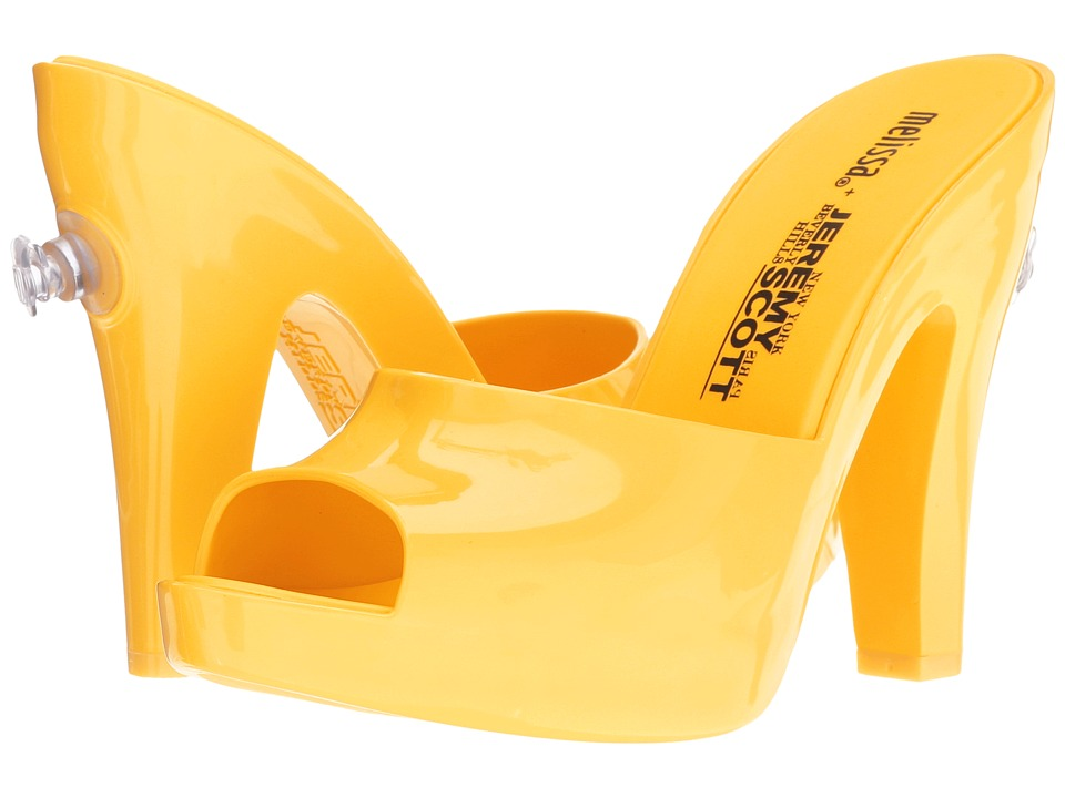 Melissa Shoes - Inflatable Mule + JS (Yellow) Women's Shoes