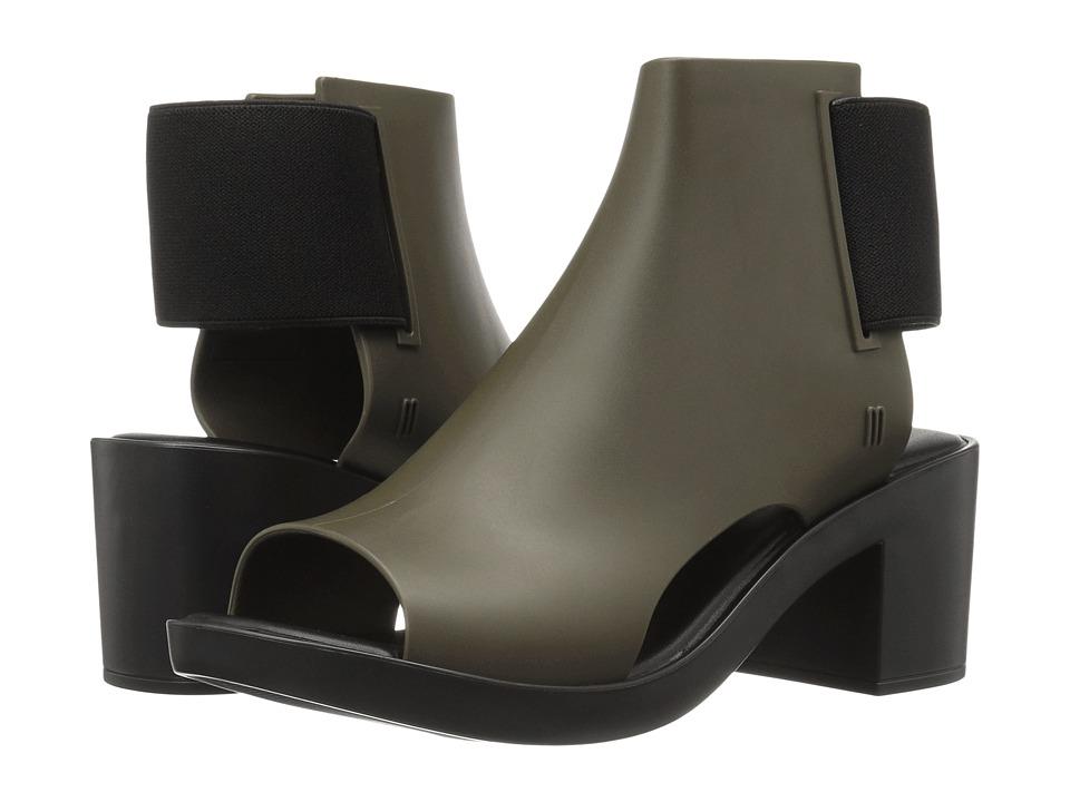 Melissa Shoes - Elastic Dance (Green/Black) Women's Shoes