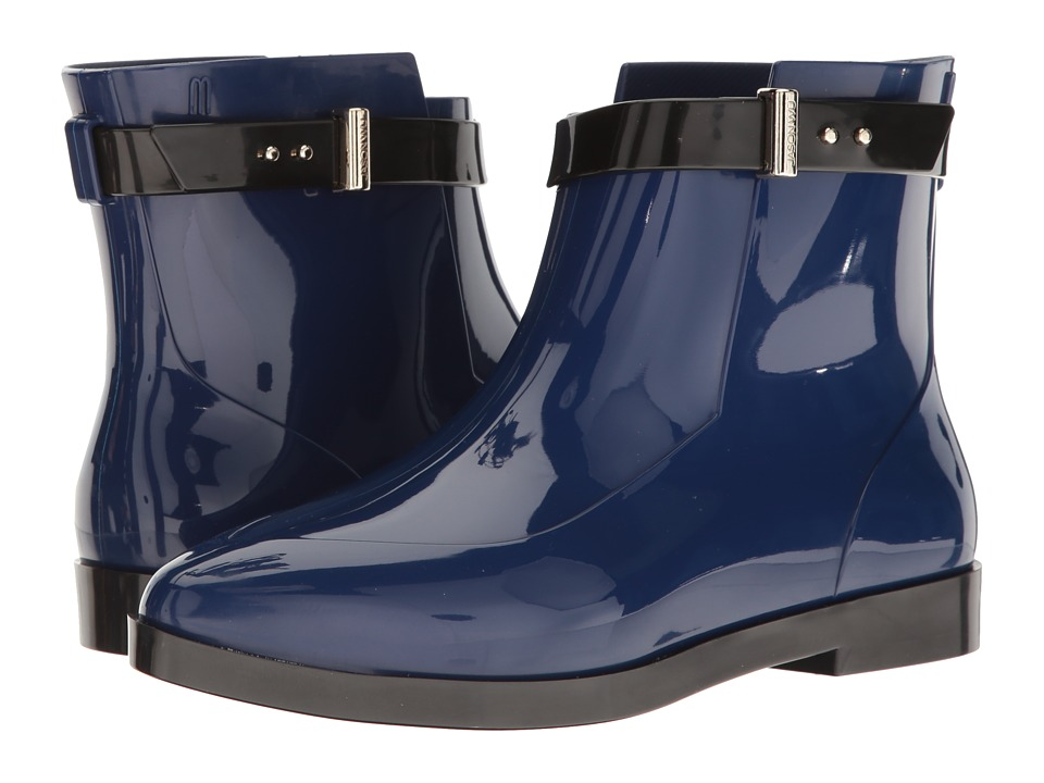 Melissa Shoes - Francoise + Jason Wu (Blue/Black) Women's Shoes