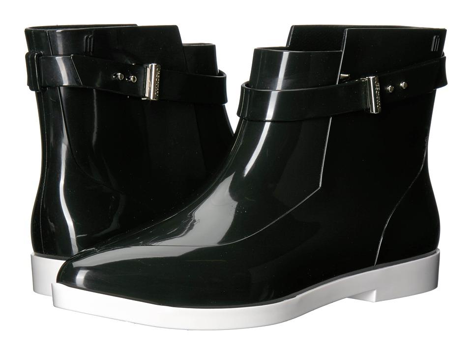 Melissa Shoes - Francoise + Jason Wu (Black/White) Women's Shoes
