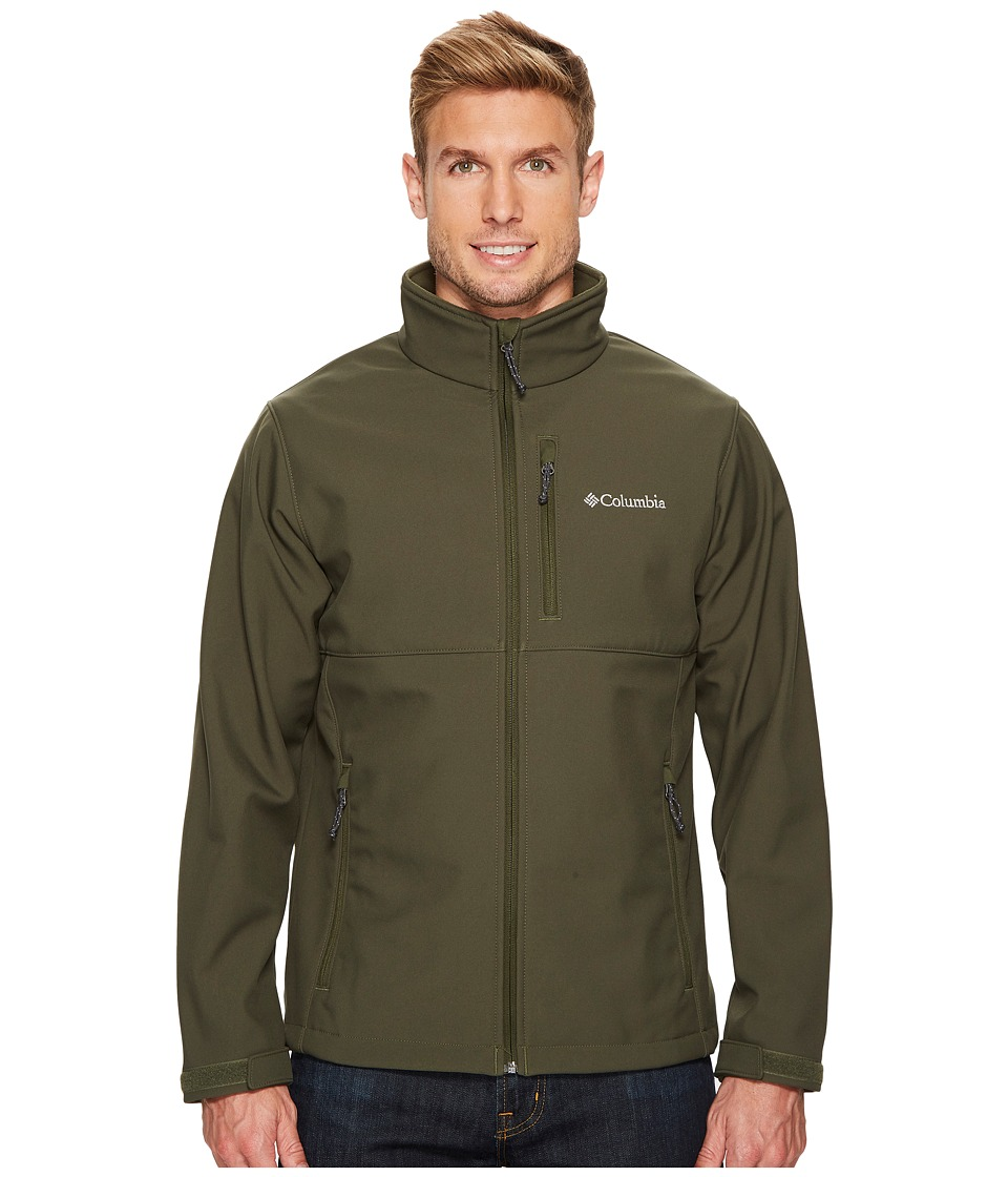 Columbia Ascendertm Softshell Jacket (Surplus Green) Men