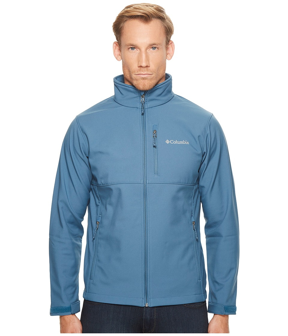 Columbia Ascendertm Softshell Jacket (Blue Heron) Men