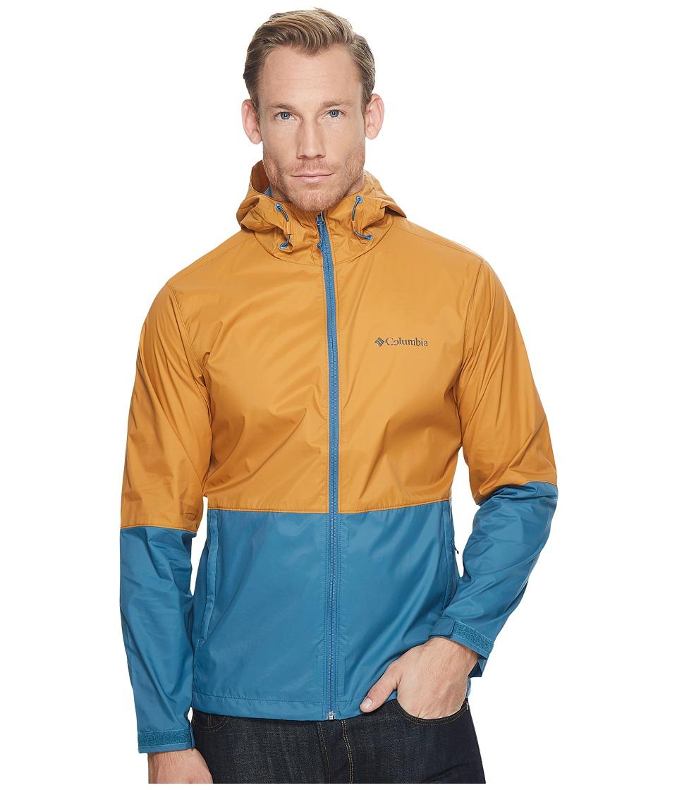 Columbia - Roan Mountaintm Jacket (Canyon Gold/Blue Heron) Men's Coat
