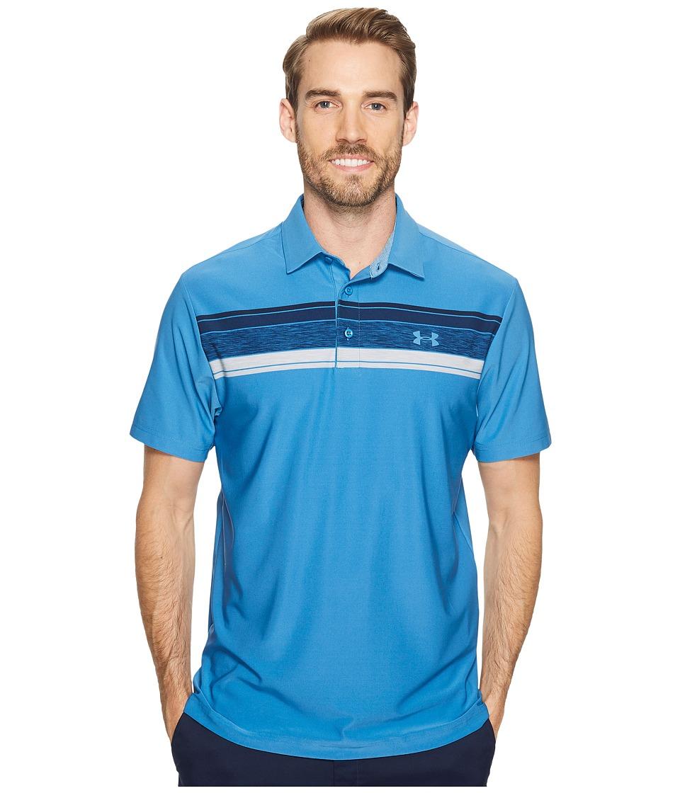 Under Armour Golf UA Playoff Polo (Urban Blue/Urban Blue/Urban Blue) Men