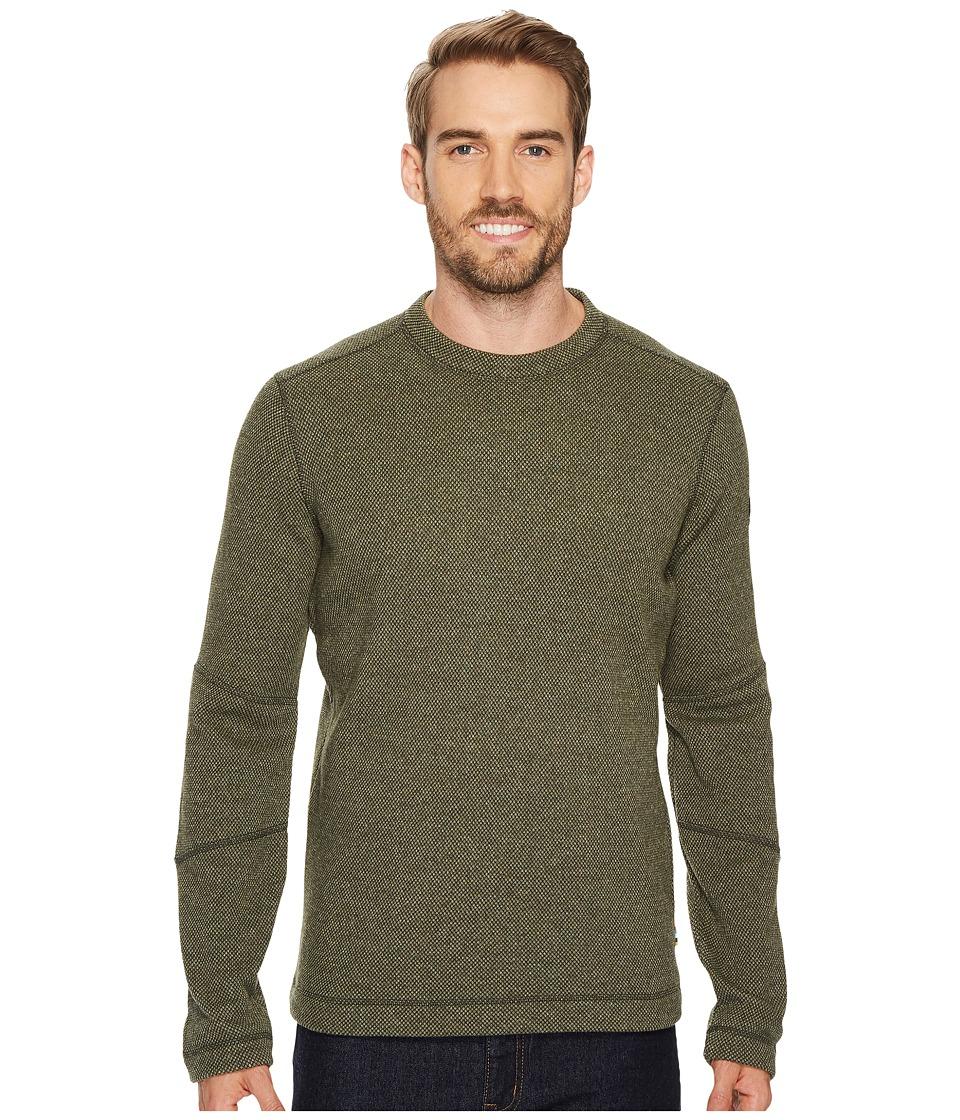 Smartwool Heritage Trail Fleece Crew Sweater (Loden) Men