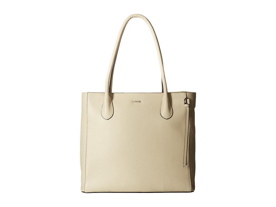 Lodis Accessories - Valencia Cecily Satchel (Cream) Satchel Handbags