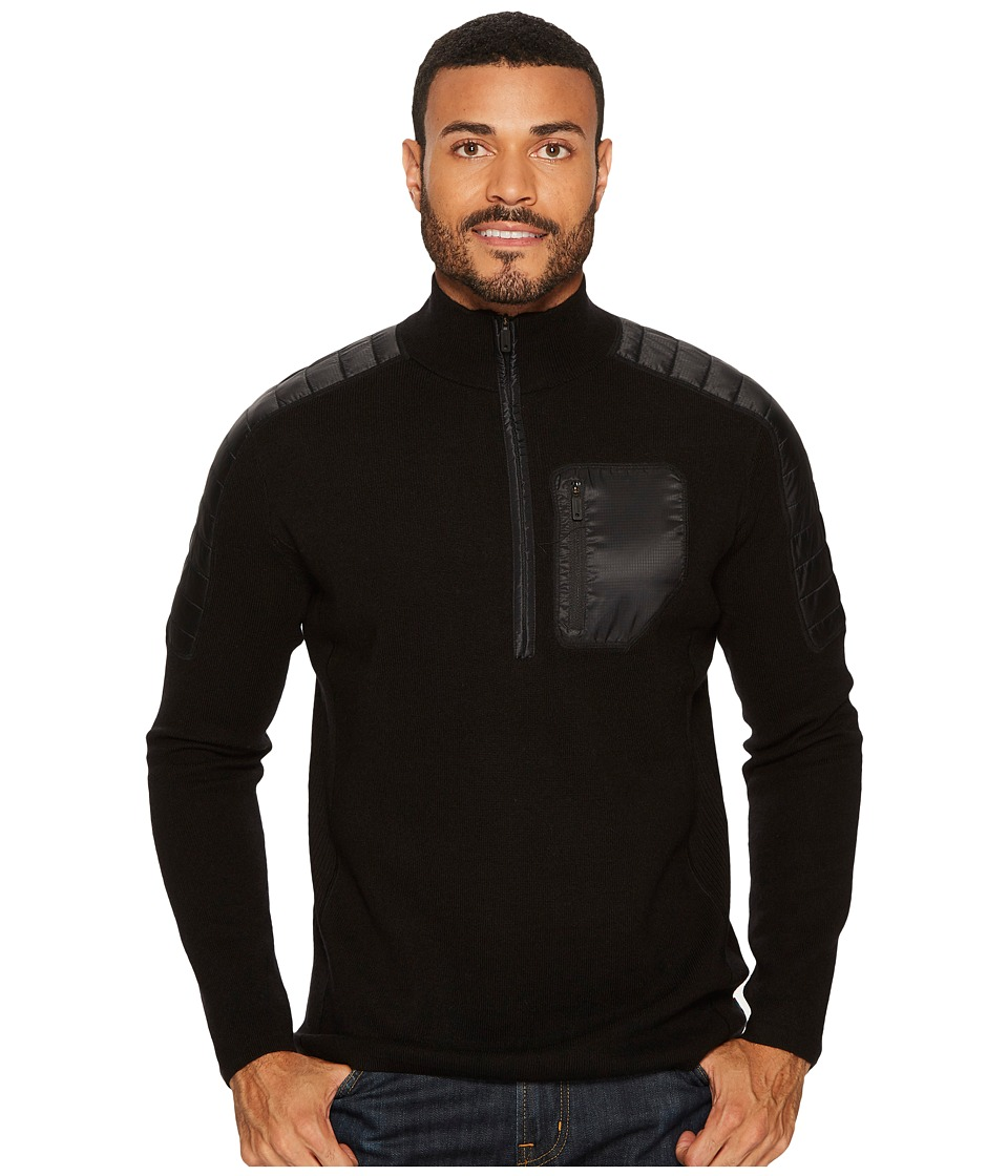 Smartwool Ski Ninja 1/2 Zip Sweater (Black) Men