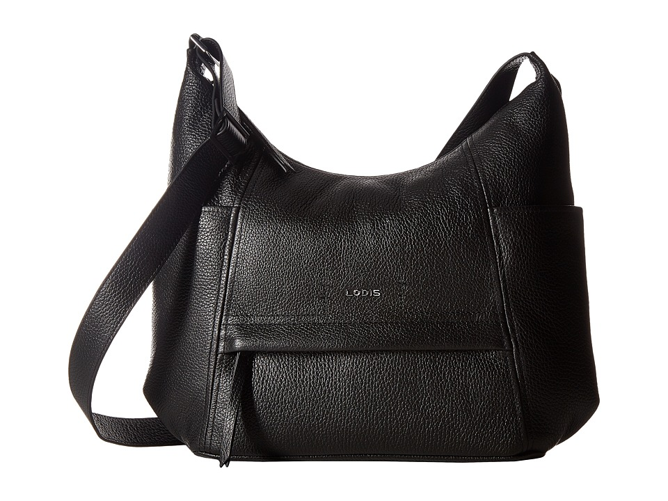 Lodis Accessories - Valencia Olga Hobo (Black) Hobo Handbags