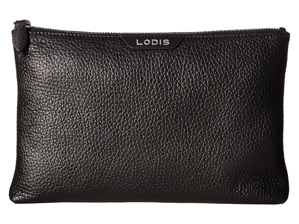 Lodis Accessories - Valencia Flat Pouch (Black) Travel Pouch
