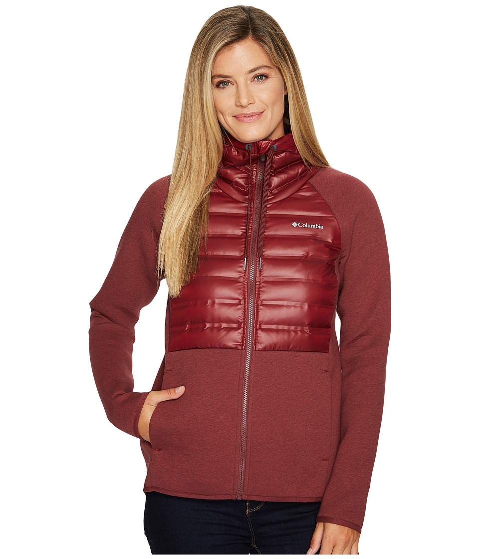 Columbia Luna Vista Hybrid Jacket (Bloodstone) Women
