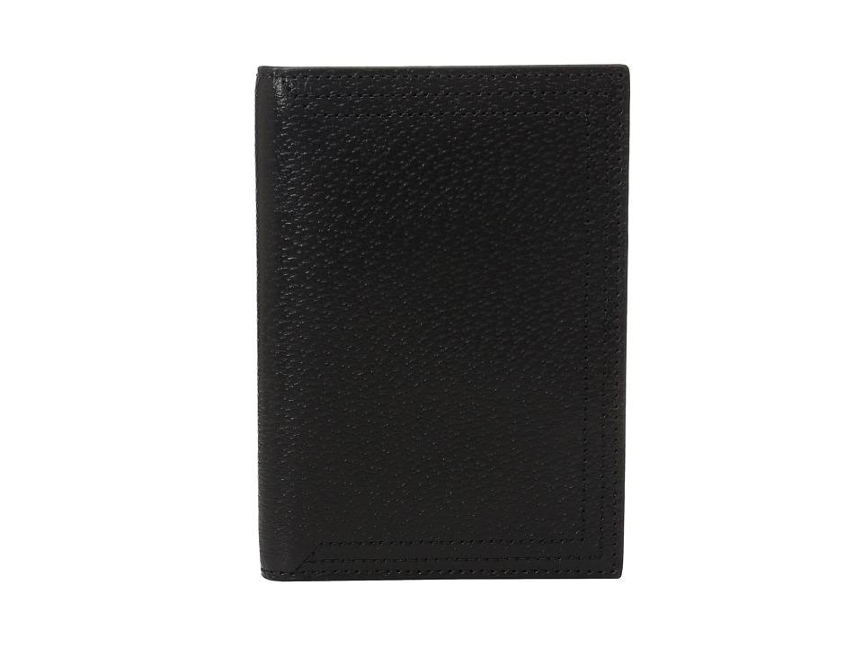 Lodis Accessories - Stephanie Under Lock Key Passport Cover (Black) Wallet