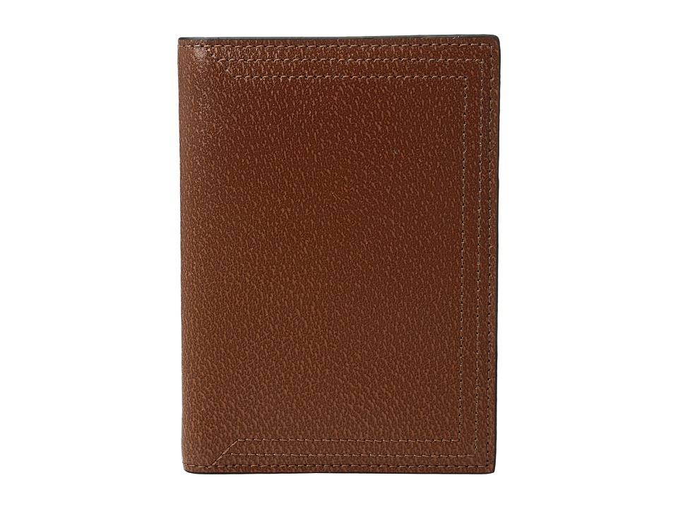 Lodis Accessories - Stephanie Under Lock Key Passport Cover (Chestnut) Wallet