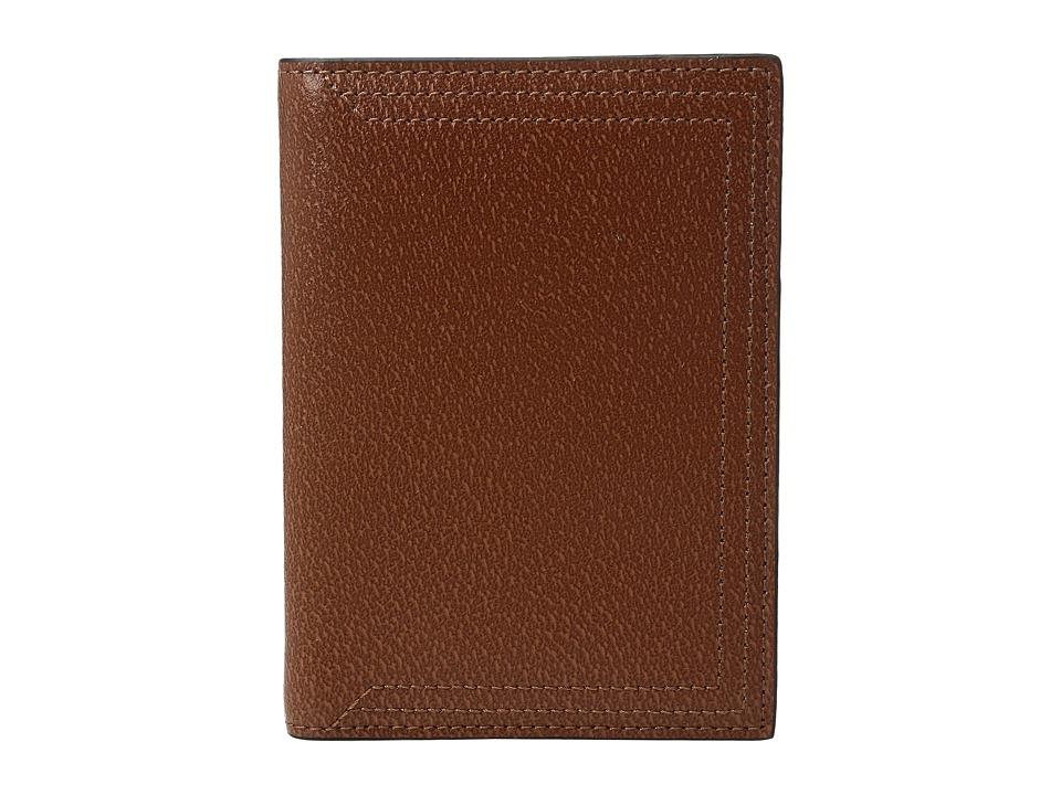 Lodis Accessories - Stephanie Under Lock Key Passport Cover (Chestnut) Wallet