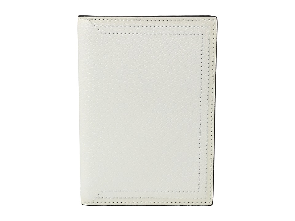 Lodis Accessories - Stephanie Under Lock Key Passport Cover (White) Wallet