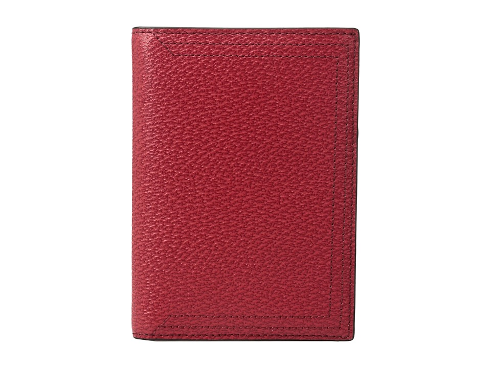 Lodis Accessories - Stephanie Under Lock Key Passport Cover (Red) Wallet